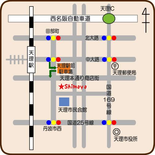シマヤのマップ